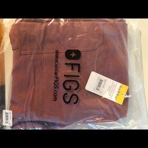 Figs Mauve kade NWT scrubs bottoms size small